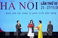 1.200 đại biểu trong và ngoài nước dự Liên hoan phim quốc tế Hà Nội