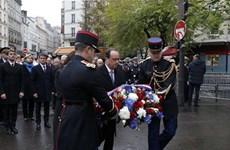 Pháp tưởng niệm các nạn nhân của loạt vụ khủng bố 13/11/2015
