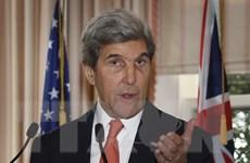 Ngoại trưởng Kerry khẳng định nỗ lực của Mỹ chống biến đổi khí hậu