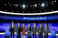 Bầu tổng thống Pháp: 7 ứng cử viên cánh hữu tranh luận lần cuối
