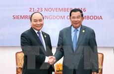 Lãnh đạo Việt Nam-Campuchia muốn sớm hoàn thành phân giới cắm mốc
