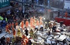 Đã có 40 người thiệt mạng vụ sập nhà máy điện ở Trung Quốc