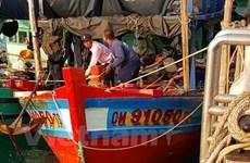 Cảnh sát biển Thái bắt giữ 2 tàu cá cùng 9 thủy thủ Việt Nam