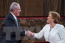 Chile-Peru ký các hiệp định thúc đẩy quan hệ song phương