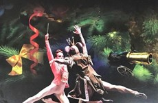 """Nghệ sỹ Nga diễn vở ballet kinh điển """"Kẹp hạt dẻ"""" tại Hà Nội"""