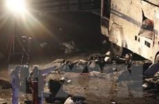 Đánh bom xe ngoài sân vận động, ít nhất 20 người bị thương