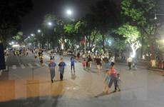 Năm 2017, Hà Nội tiếp tục thí điểm tuyến phố đi bộ quanh Bờ Hồ