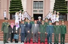 Tăng cường củng cố quan hệ giữa Bộ Quốc phòng Việt Nam và Malaysia