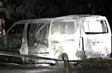 Australia: Xe tải chứa đầy bình gas lao vào văn phòng của ACL
