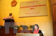Đảng đoàn Quốc hội quán triệt Nghị quyết Trung ương 4 khóa XII