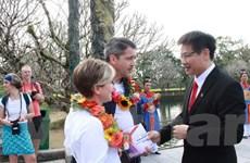 Thừa Thiên-Huế đón vị khách thứ 2,5 triệu tham quan Khu Di sản