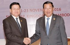 Campuchia-Lào khánh thành cửa khẩu Trapeng Krean-Nongnuk Khean