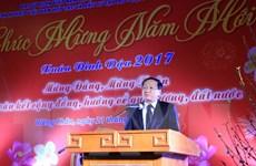 Đại sứ Việt Nam ở Lào, Algeria chúc Tết bà con và cán bộ dầu khí