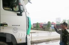 Cửa khẩu Lào Cai thông quan hàng hóa và khách du lịch đầu tiên