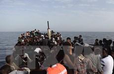 Hàng trăm người di cư bị chặn lại ở ngoài khơi bờ biển Libya