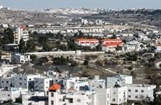 Israel cấp phép xây mới hơn 1.000 đơn vị nhà định cư ở Bờ Tây