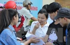 Thí sinh đăng ký dự thi THPT và xét tuyển đại học từ 1-20/4 tới