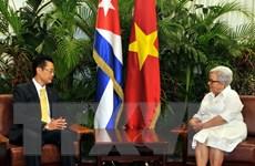 Phó Chủ tịch Cuba tin tưởng quan hệ với Việt Nam sẽ vững tiến