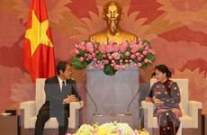 Chủ tịch Quốc hội tiếp Đại sứ Nhật Bản và Đại sứ Thái Lan
