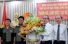 Chủ tịch Mặt trận Tổ quốc chúc mừng ngày Thầy thuốc Việt Nam