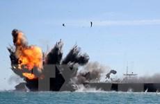Hải quân quân Iran lần đầu tiên tập trận kể từ khi ông Trump nhậm chức