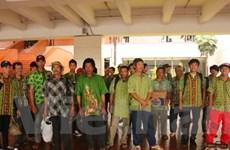 Indonesia trao trả ngư dân Việt Nam đợt đầu tiên trong năm nay