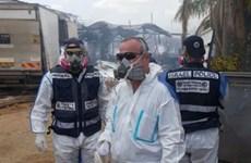 Cháy kho pháo hoa tại Israel khiến 8 người thương vong