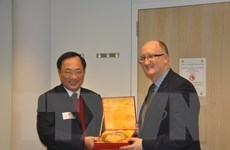 Thứ trưởng Công an Nguyễn Văn Thành làm việc tại EUROPOL và EU