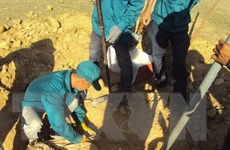 Kon Tum phát hiện hài cốt liệt sỹ trong lúc đào móng xây nhà