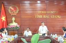 Công ty Tata International Việt Nam tìm cơ hội đầu tư ở Hậu Giang