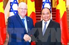 Thủ tướng Nguyễn Xuân Phúc tiếp Tổng thống Israel Ruvi Rivlin