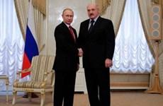 Nga-Belarus khép lại các tranh cãi trong quan hệ song phương
