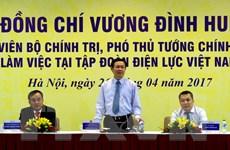 Phó Thủ tướng yêu cầu EVN xây dựng giá điện theo nguyên tắc tính đủ