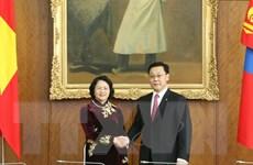Hoạt động Phó Chủ tịch nước Đặng Thị Ngọc Thịnh tại Mông Cổ