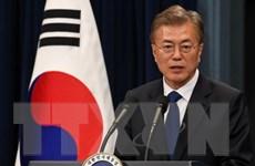Tổng thống Jae-in tìm sự ủng hộ của các đảng đối lập tại Quốc hội