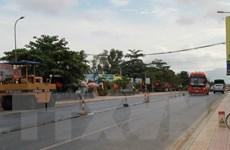 TP.HCM khẩn trương sửa chữa mặt đường Quốc lộ 1 bị trồi lún