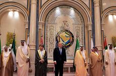 Tổng thống Mỹ Donald Trump nhóm họp với các nhà lãnh đạo vùng Vịnh