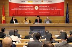 Phó Thủ tướng chủ trì Diễn đàn kinh tế Việt Nam-Tây Ban Nha