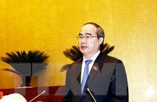 Chủ tịch Mặt trận chúc mừng Đại lễ khai đạo Phật giáo Hòa Hảo