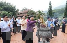 Phó Chủ tịch Quốc hội Tòng Thị Phóng làm việc tại Thái Nguyên