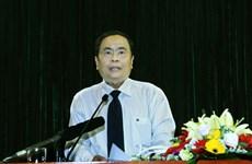 Ông Trần Thanh Mẫn được cử giữ chức vụ Chủ tịch Mặt trận Tổ quốc