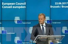 EU nhất trí tăng cường an ninh quốc phòng và chống khủng bố