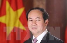 Chủ tịch nước Trần Đại Quang lên đường thăm chính thức Belarus