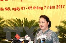 Hà Nội xem xét, quyết định nhiều vấn đề về phát triển kinh tế-xã hội