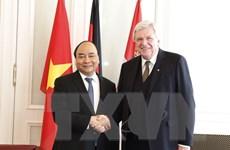 Thủ tướng Nguyễn Xuân Phúc gặp và làm việc với lãnh đạo bang Hessen