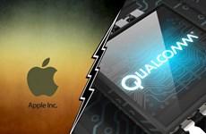 """Qualcomm lại thêm """"lửa"""" trong cuộc chiến pháp lý với Apple"""