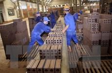 Nhiều ngành sản xuất công nghiệp trong cả nước có mức tăng cao