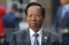Quốc vương Campuchia phong tước Samdech cho Bộ trưởng Tea Banh