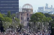 Hàng chục nước dự lễ tưởng niệm 72 năm thảm họa bom nguyên tử ở Nhật