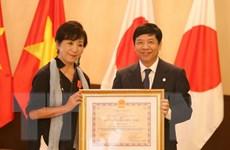 Trao Huân chương Hữu nghị cho đạo diễn người Nhật Masako Sakata